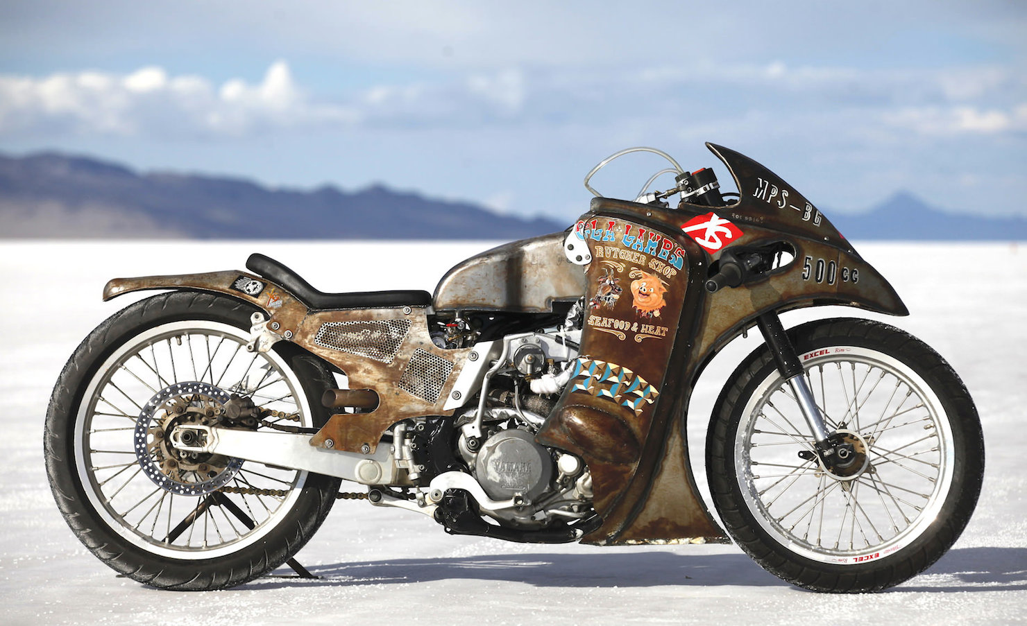 Turbo Yamaha Salt Flat Racer by Super Rat