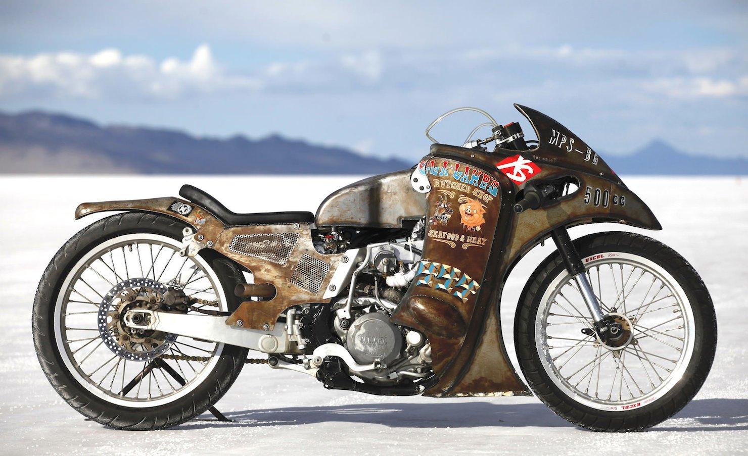 Turbo Yamaha Salt Flat Racer by Super Rat