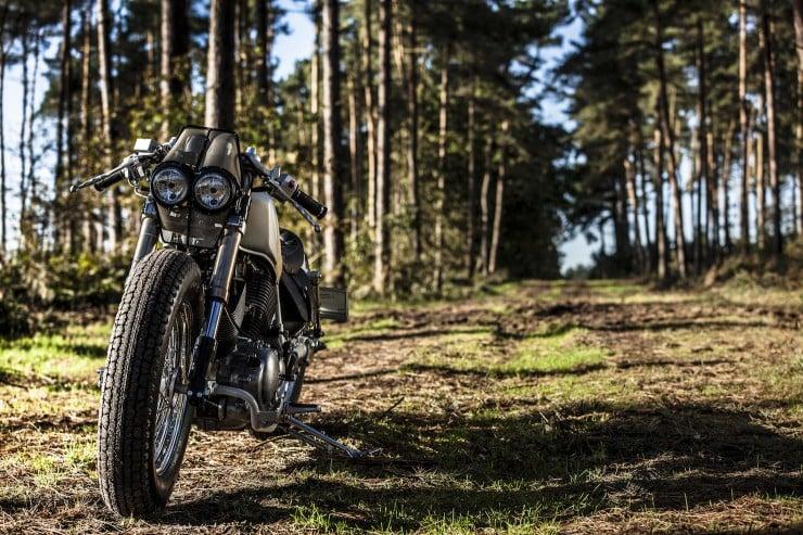 Yamaha Virago XV535 1 740x493 Yamaha Virago XV535 by Old Empire Motorcycles