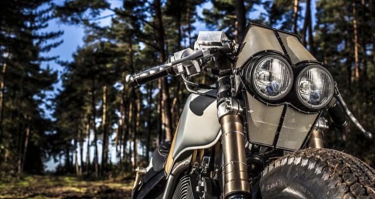 Yamaha Virago XV535 4 740x393 Yamaha Virago XV535 by Old Empire Motorcycles