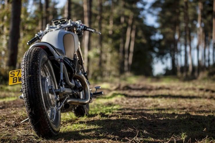 Yamaha Virago XV535 7 740x493 Yamaha Virago XV535 by Old Empire Motorcycles