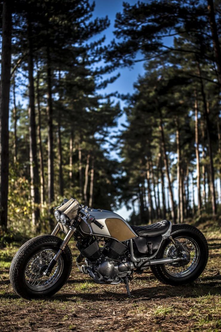 Yamaha Virago XV535 8 740x1110 Yamaha Virago XV535 by Old Empire Motorcycles