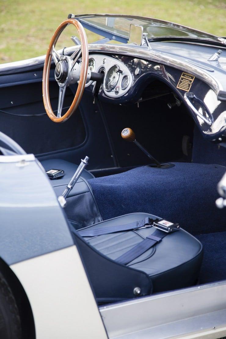 1956 Austin-Healey 100M Interior