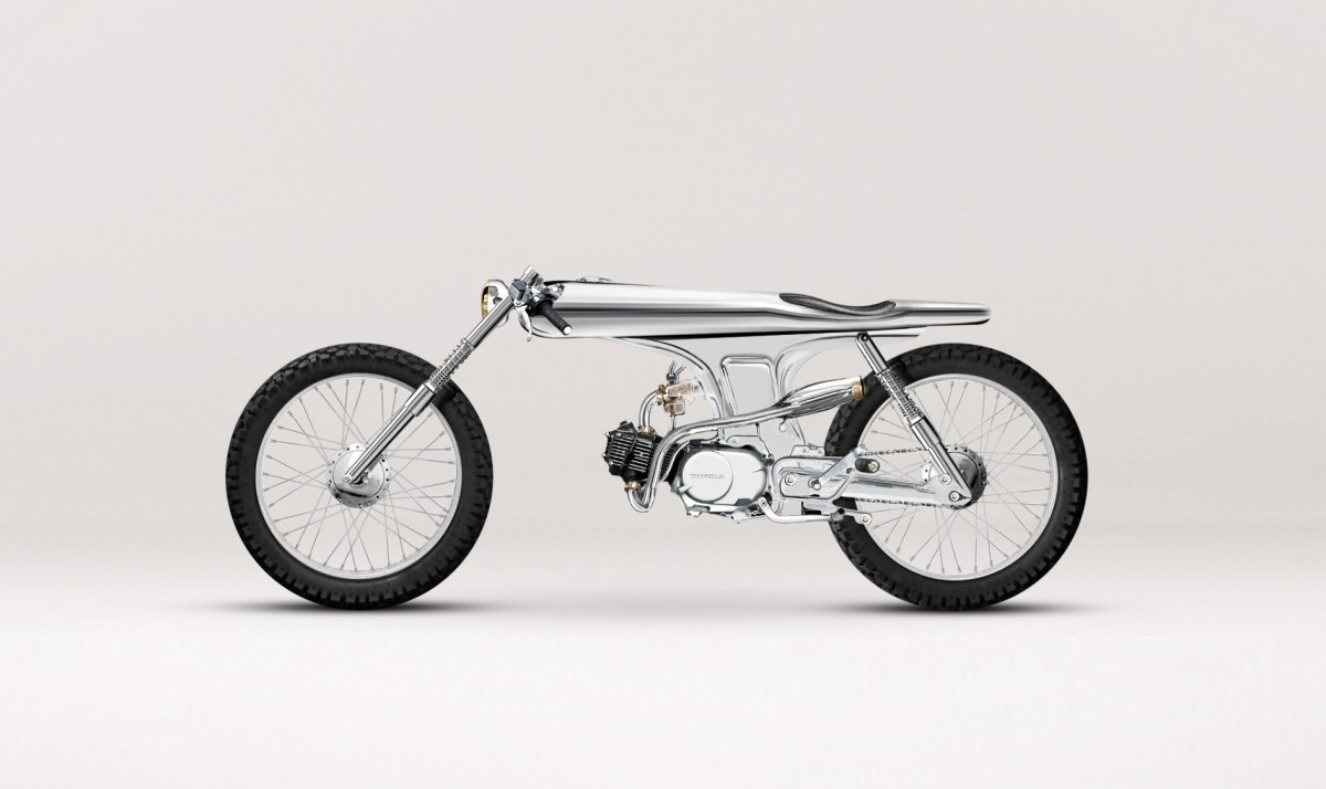 EVE - A Custom Honda SS by Bandit 9 Motorcycles