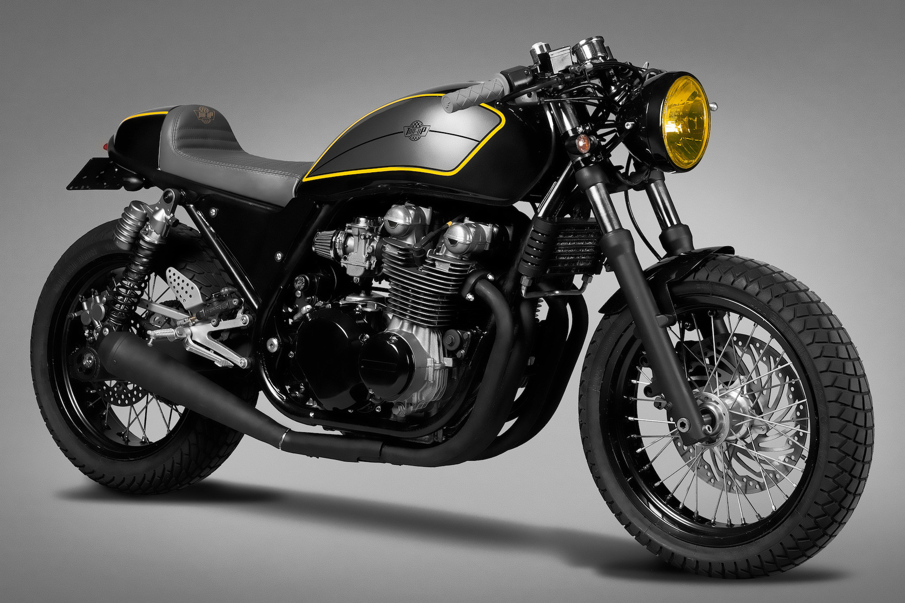 kawasaki zephyr 750 by ton up garage silodrome