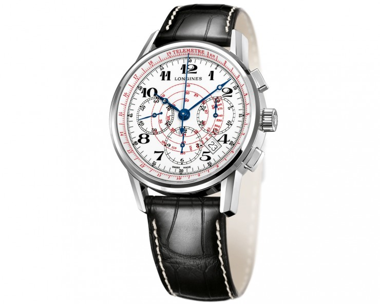 Longines Telemeter Chronograph Watch