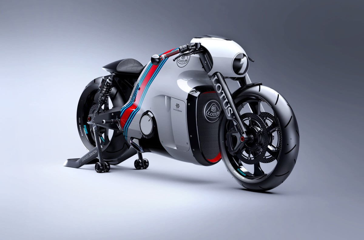 The Lotus C-01 Motorcycle