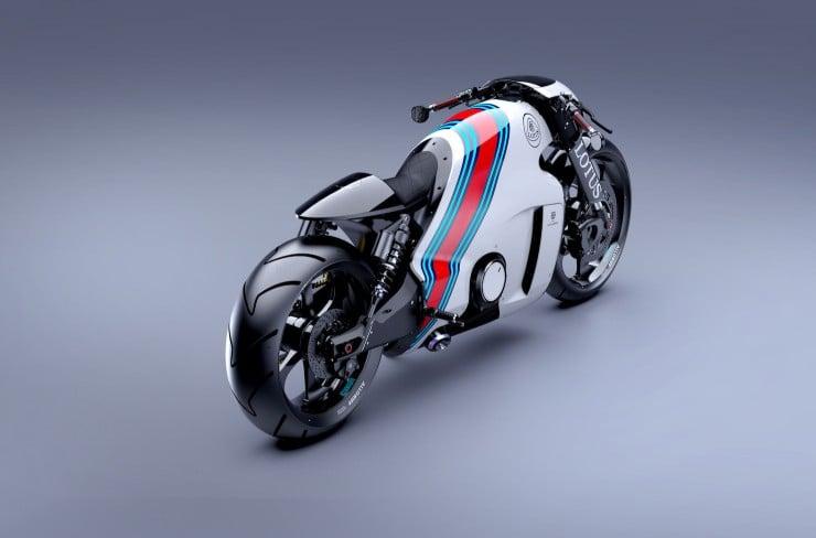 Lotus C-01 Motorcycle 5