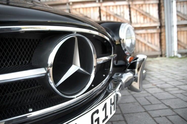Mercedes-Benz 190 SL Roadster 5