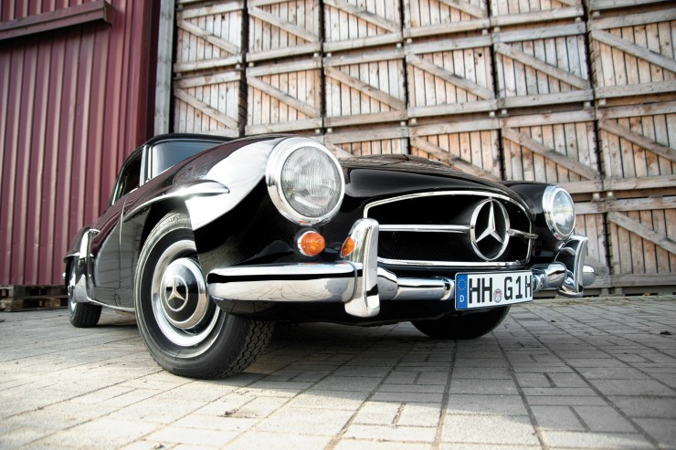 Mercedes-Benz 190 SL Roadster 6
