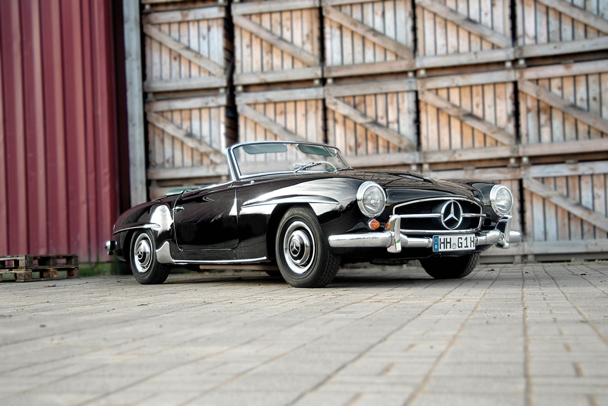 1960 mercedes benz 190 sl roadster for 1960 mercedes benz