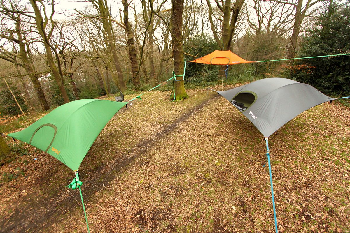 Tentsile Stingray Tree Tent 6 & Tentsile Stingray Tree Tent