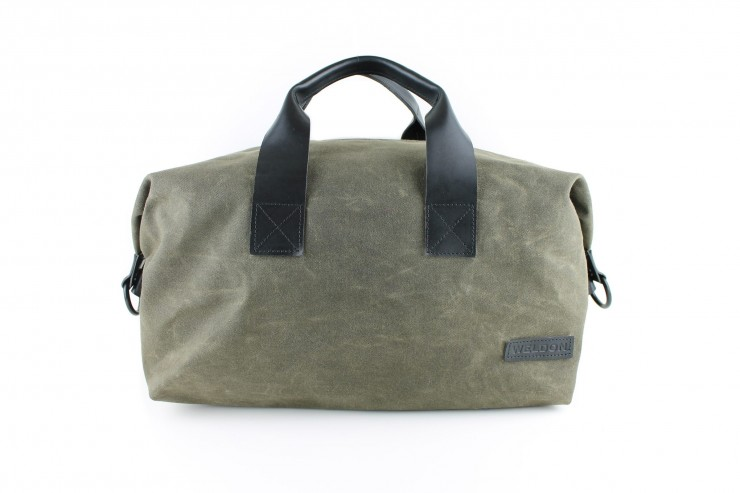 Weekender Waxed Cotton Bag Weldon