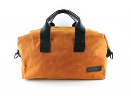 Weekender Waxed Cotton Bag by Weldon