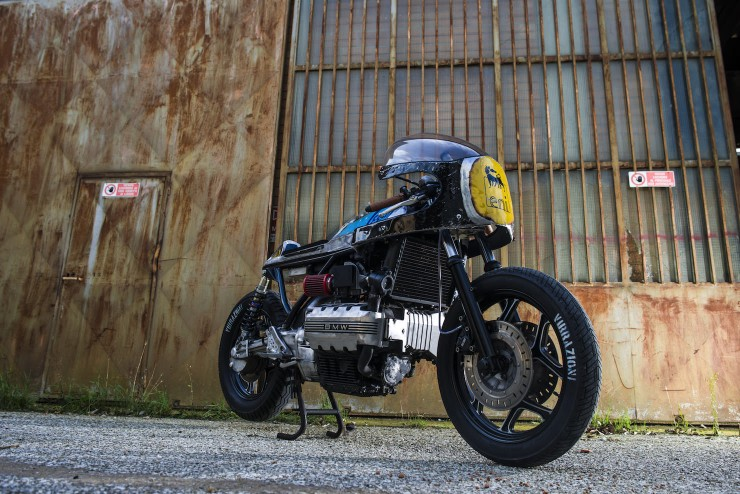 bmw k100 cafe racer 3 740x494 BMW K100 Cafe Racer