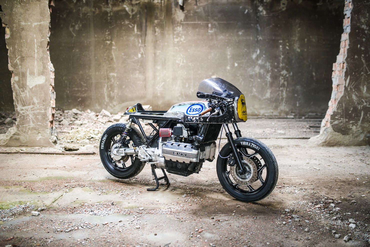 Danielle Knudson as well Cafe Racer Ducati Monster 600 additionally Street Yamaha Sport Bike moreover XJR 1300 Cafe Racer Motorcycle also Twin Triumph Crankcase Breather. on bmw cafe racer motorcycles for sale