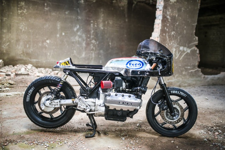 bmw k100 cafe racer 7 740x494 BMW K100 Cafe Racer