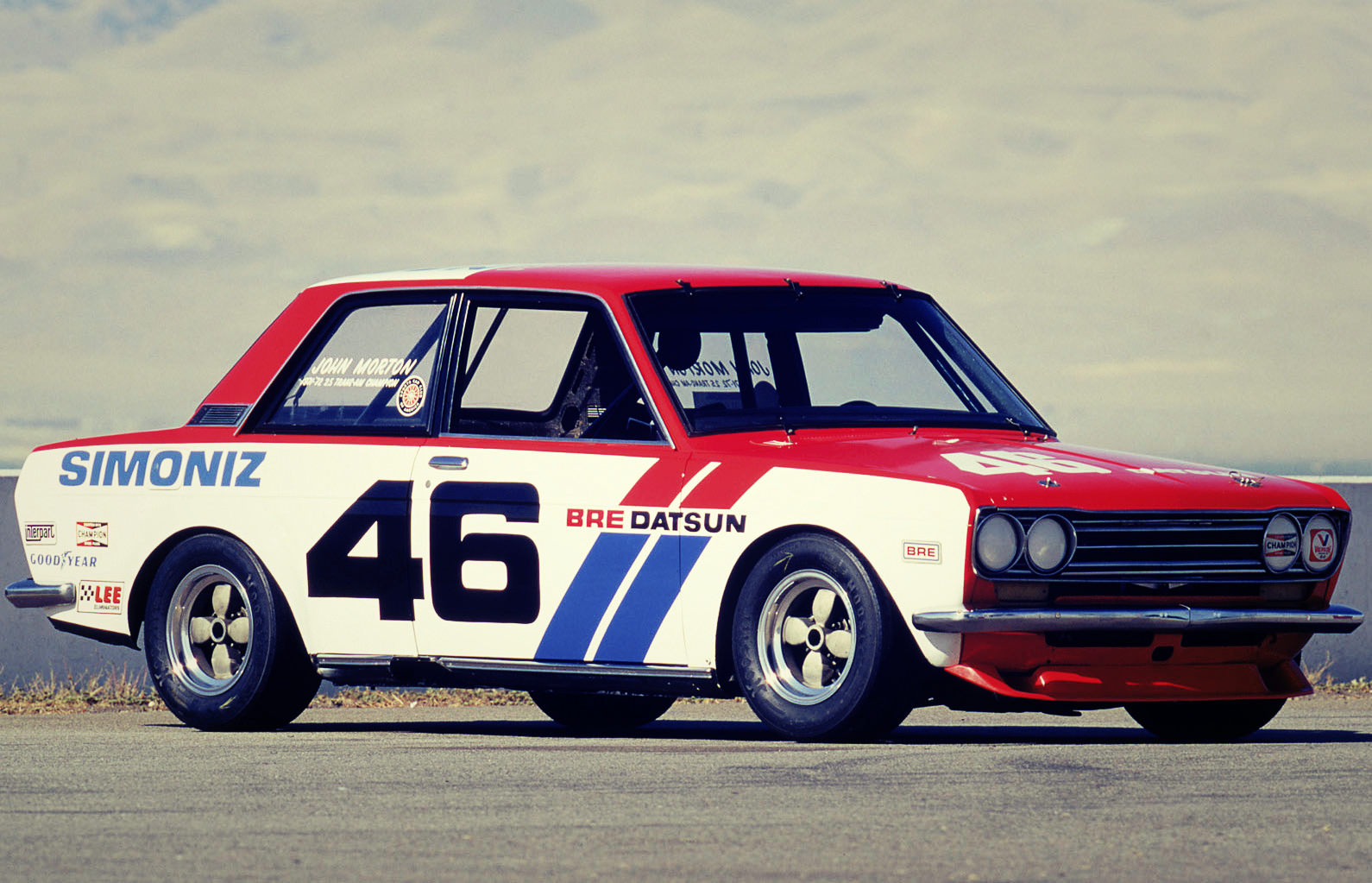 against all odds the datsun 1600 510