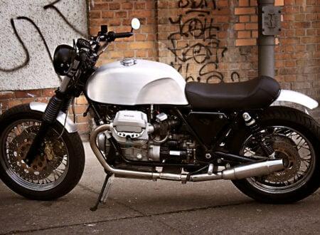 custom moto guzzi motorcycle 450x330 - Moto Guzzi Custom by Urban Motor