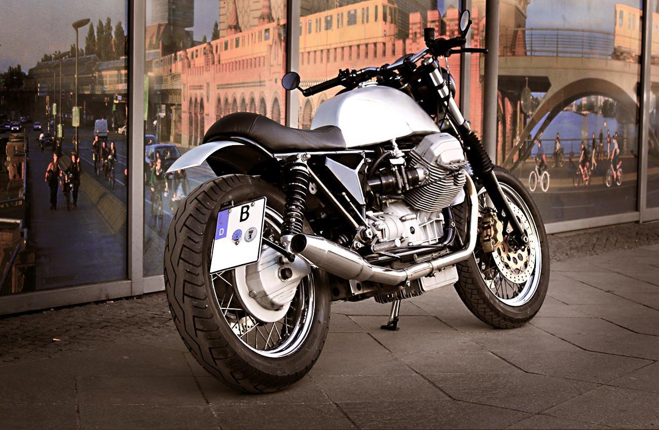 Caf Racer 76 Moto Guzzi Custom By Urban Motor