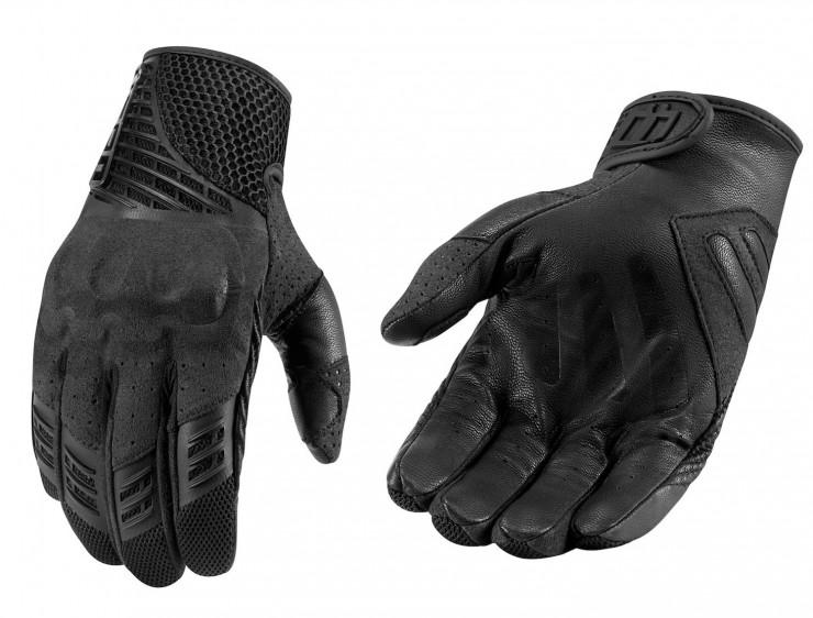 motorcycle gloves black