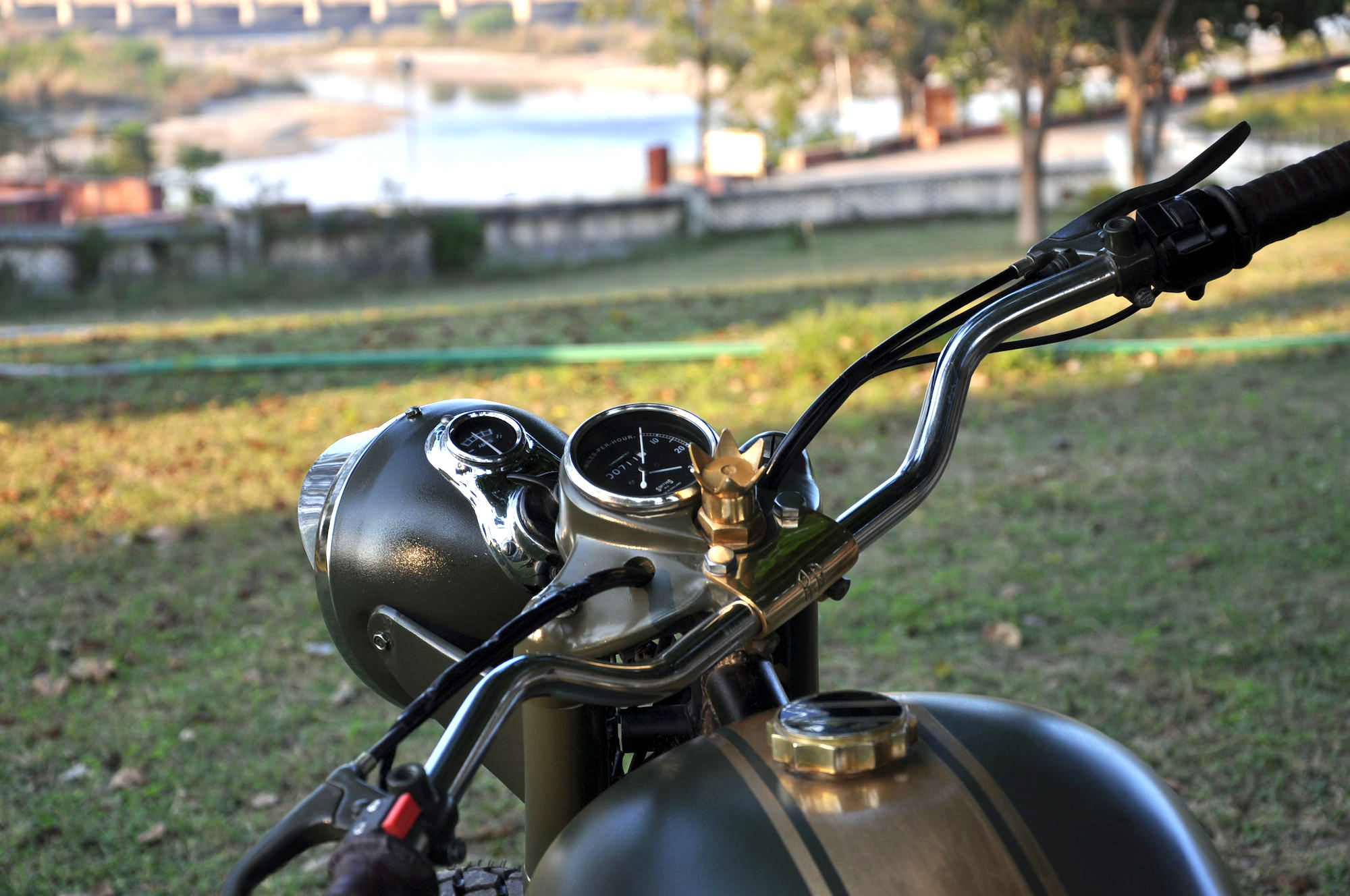 Pictures of Custom Parts Royal Enfield