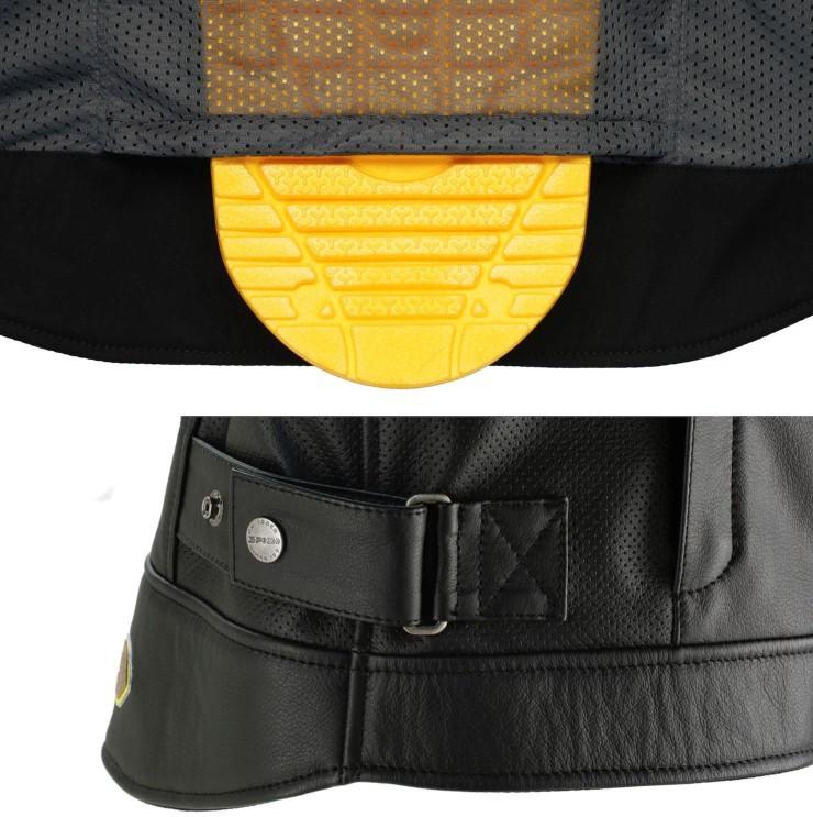 spidi motorcycle jacket detail 1