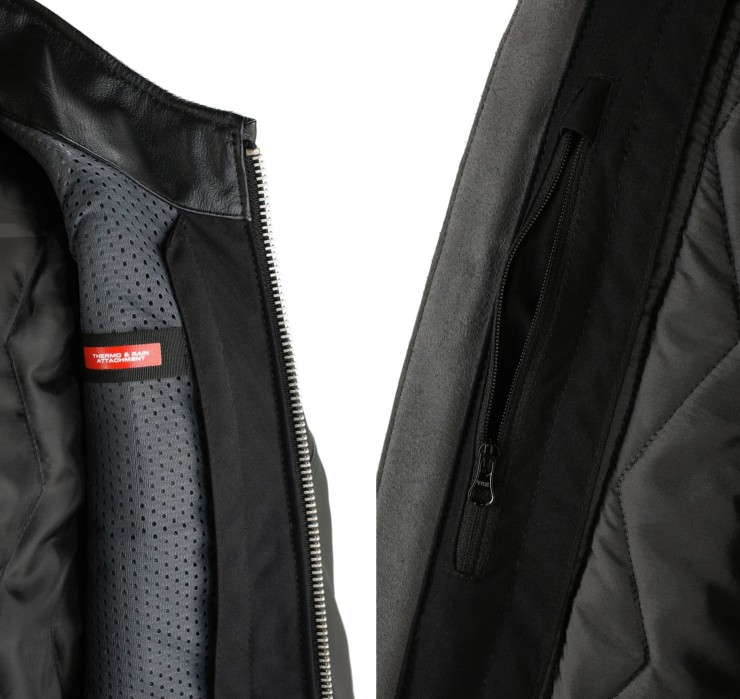 spidi motorcycle jacket detail