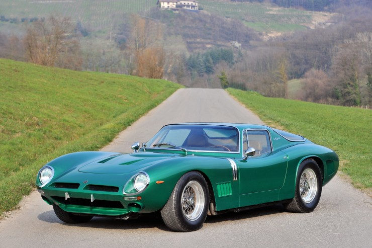 Bizzarrini Car 740x493 1968 Bizzarrini 5300 GT Strada Alloy