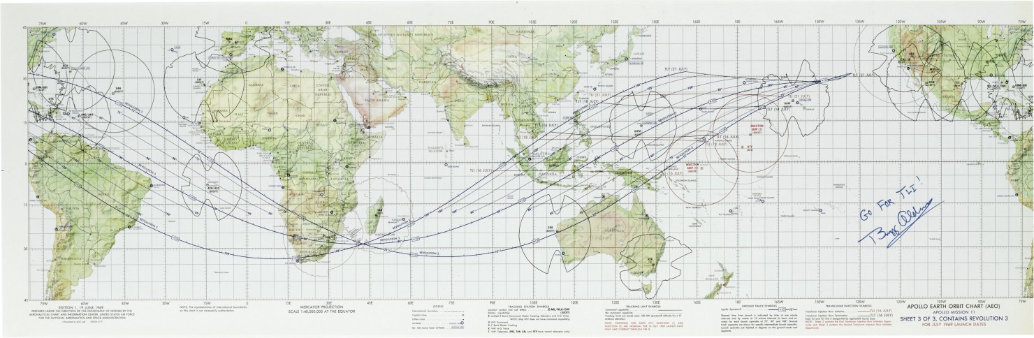 Charts To Begin A Journey To The Moon