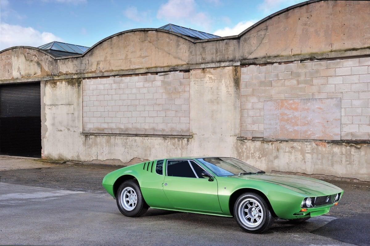 A Bright Green 1969 De Tomaso Mangusta