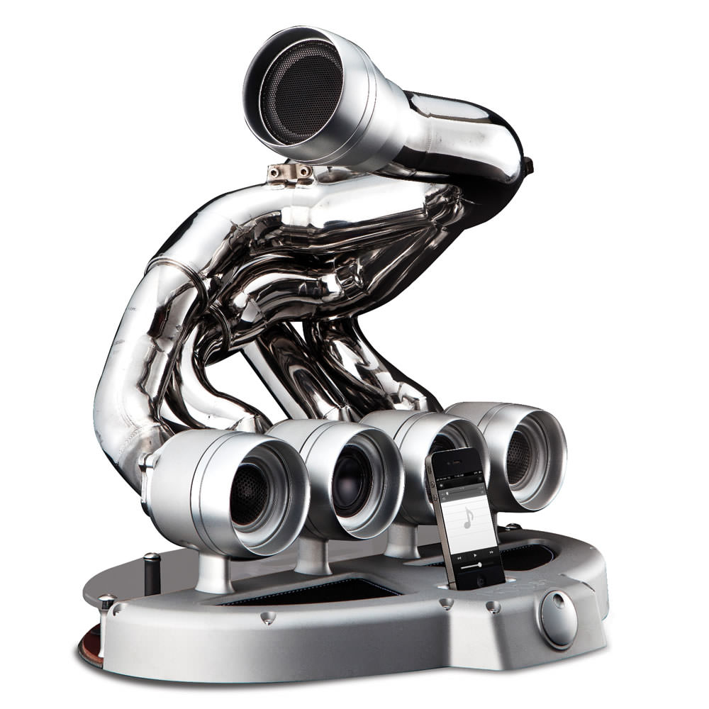Formula One Speaker Dock