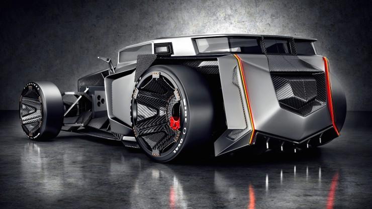 Lamborghini Rat Rod 1