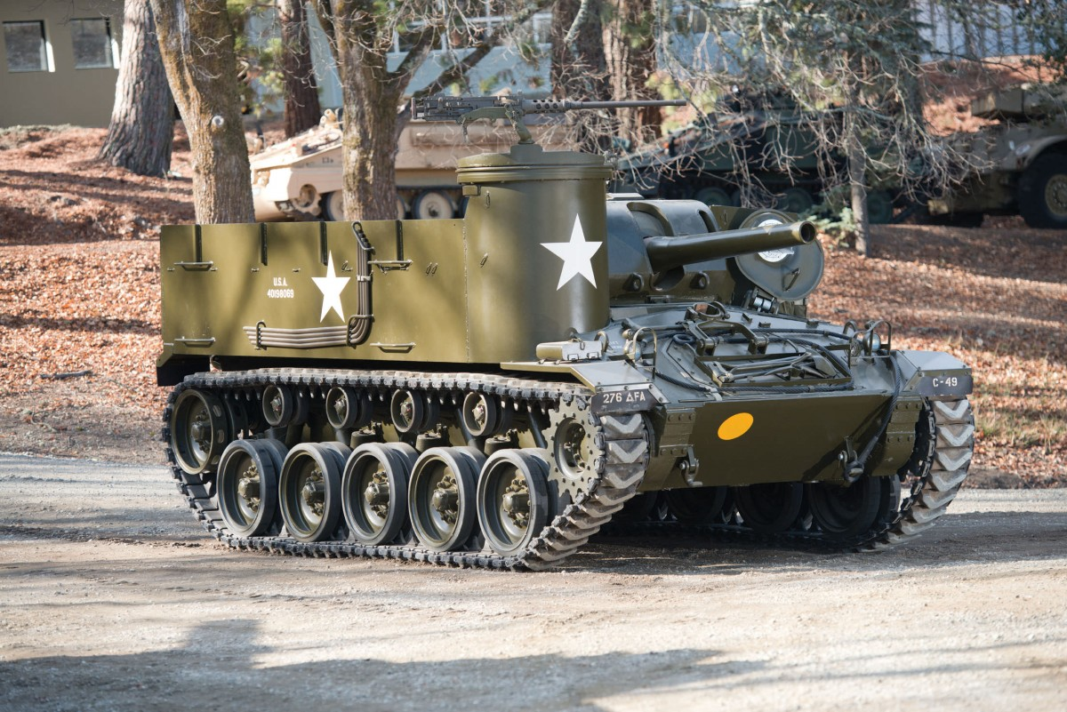 M37 Tank 1200x801 - M37 Howitzer Tank