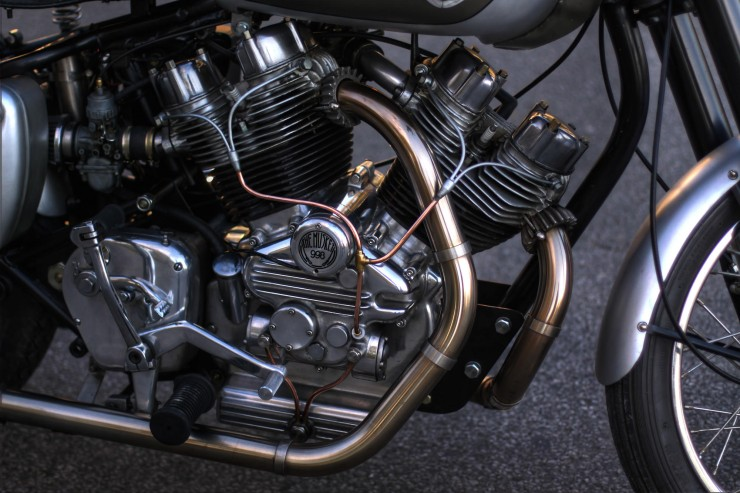 Musket Royal Enfield V-Twin  3