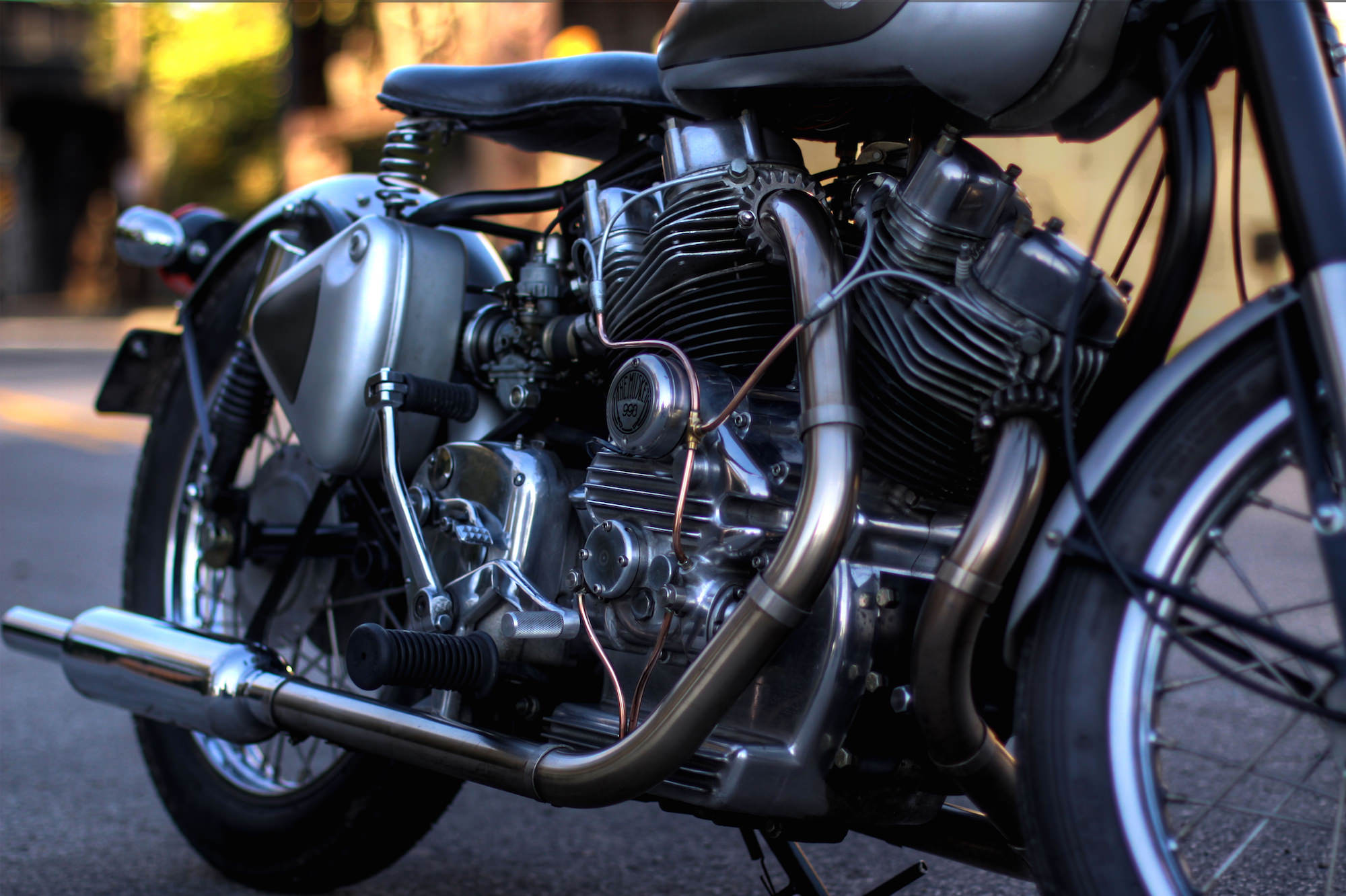 The Musket Royal Enfield V Twin