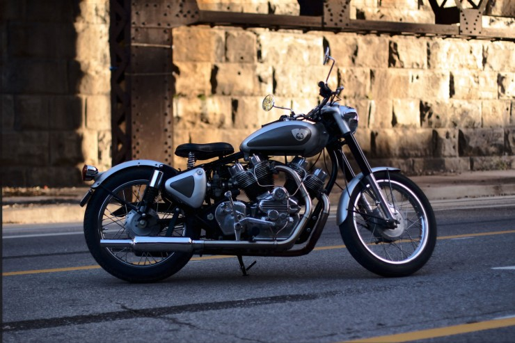 Musket Royal Enfield V-Twin  6
