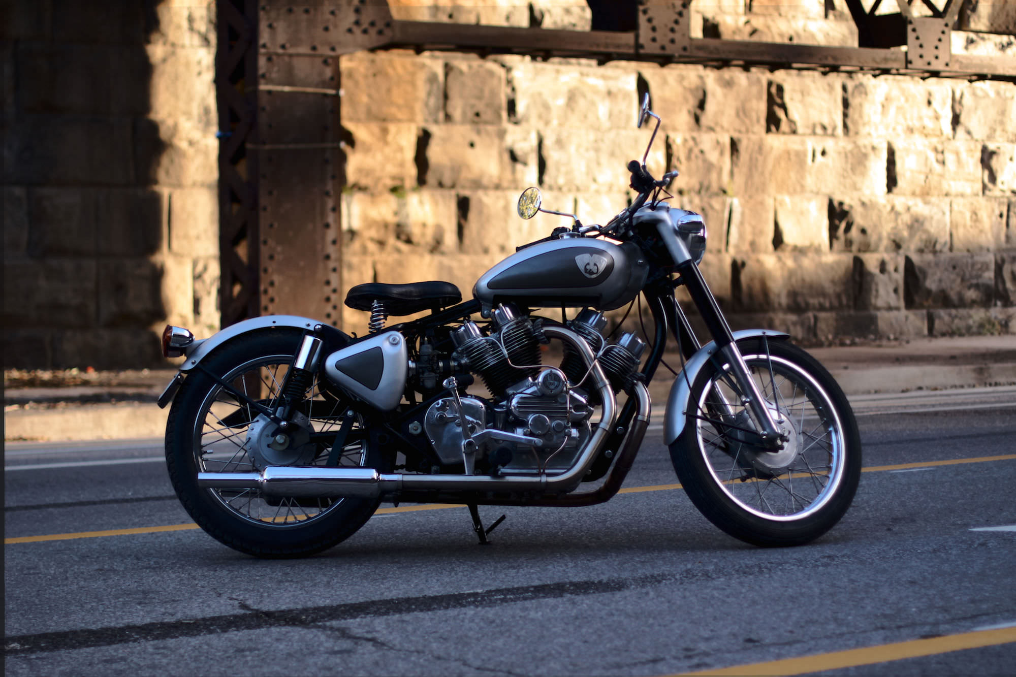 musket royal enfield  twin