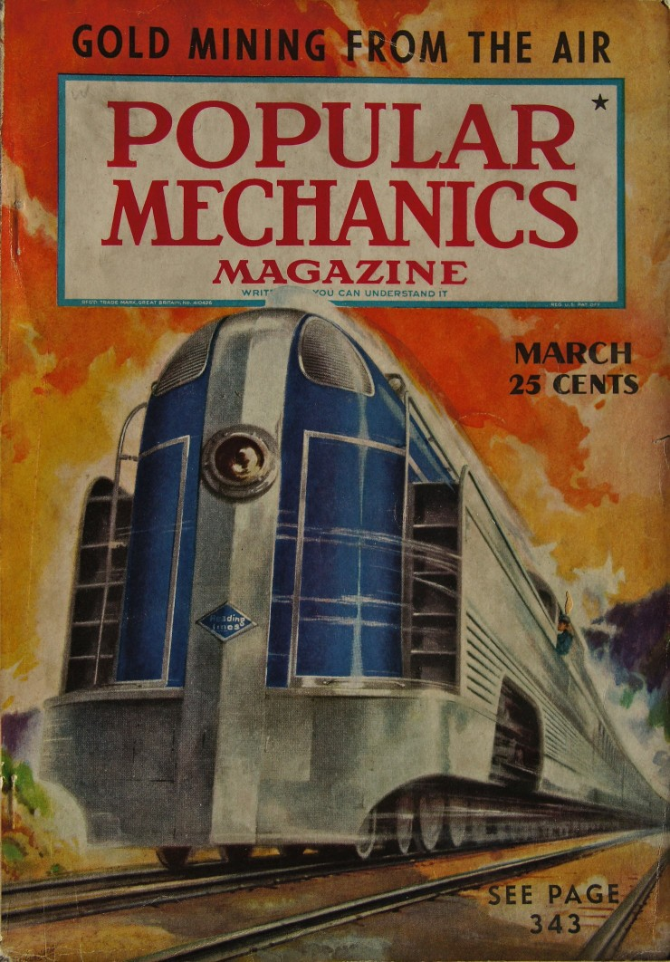 Reading Company's Crusader streamliner steam train popular mechanics