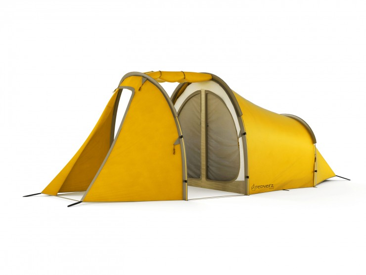 Redverz Motorcycle Expedition Tent 1