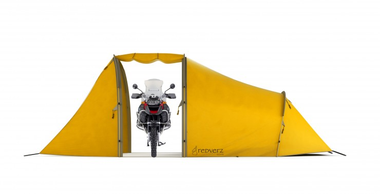 Redverz Motorcycle Expedition Tent 3