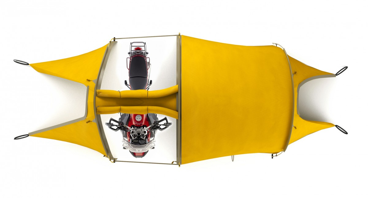 The Redverz Motorcycle Expedition Tent