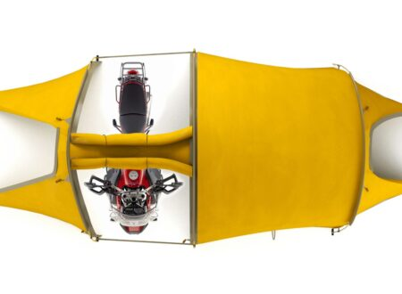 Redverz Motorcycle Expedition Tent 4