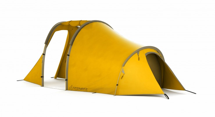Redverz Motorcycle Expedition Tent 5