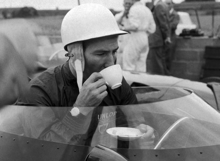 Stirling Moss and a Cup of Tea 450x330 - Stirling Moss and a Cup of Tea