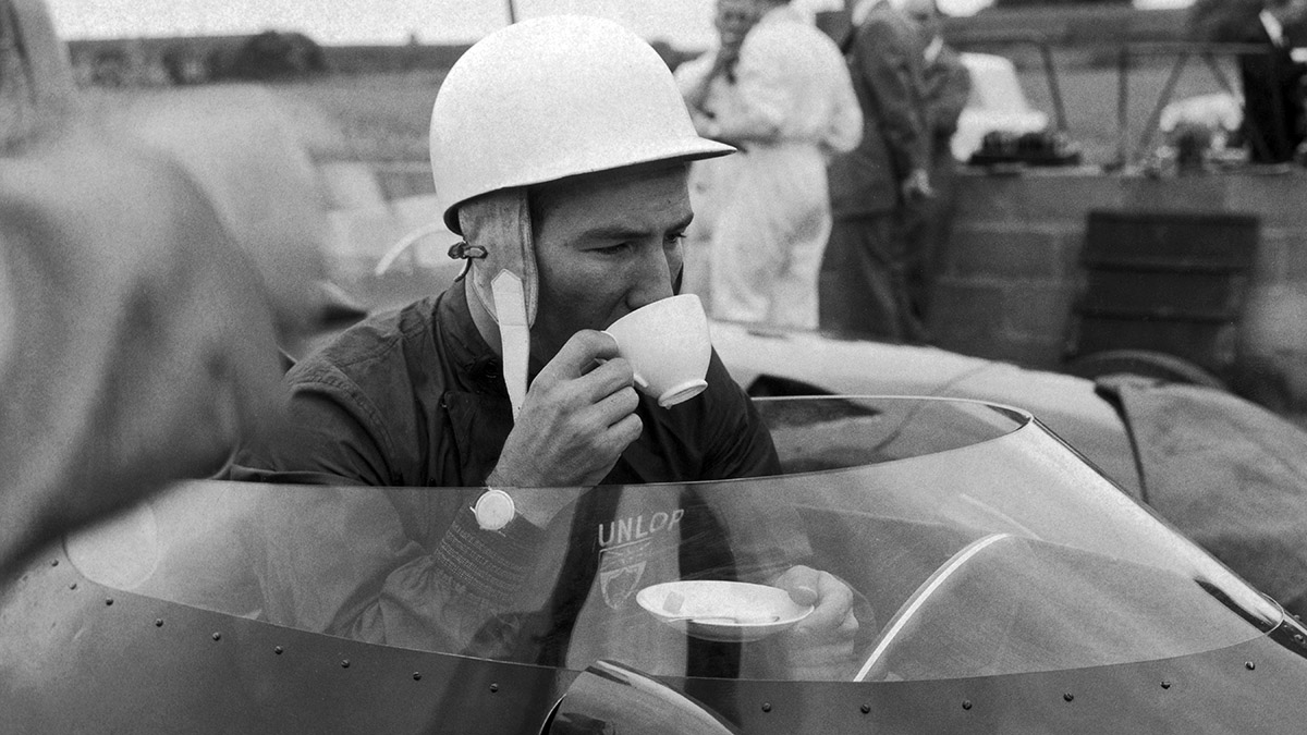 Stirling Moss and a Cup of Tea - Stirling Moss and a Cup of Tea
