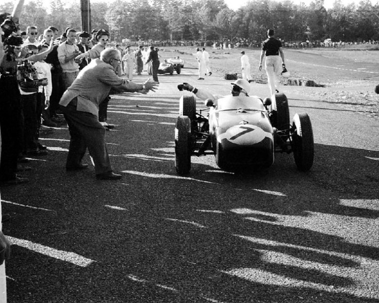 Stirling Moss and a Cup of Tea