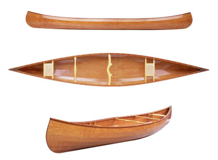 Taiga build a wood canoe kit image 450x330 - Wooden Canoe Kit