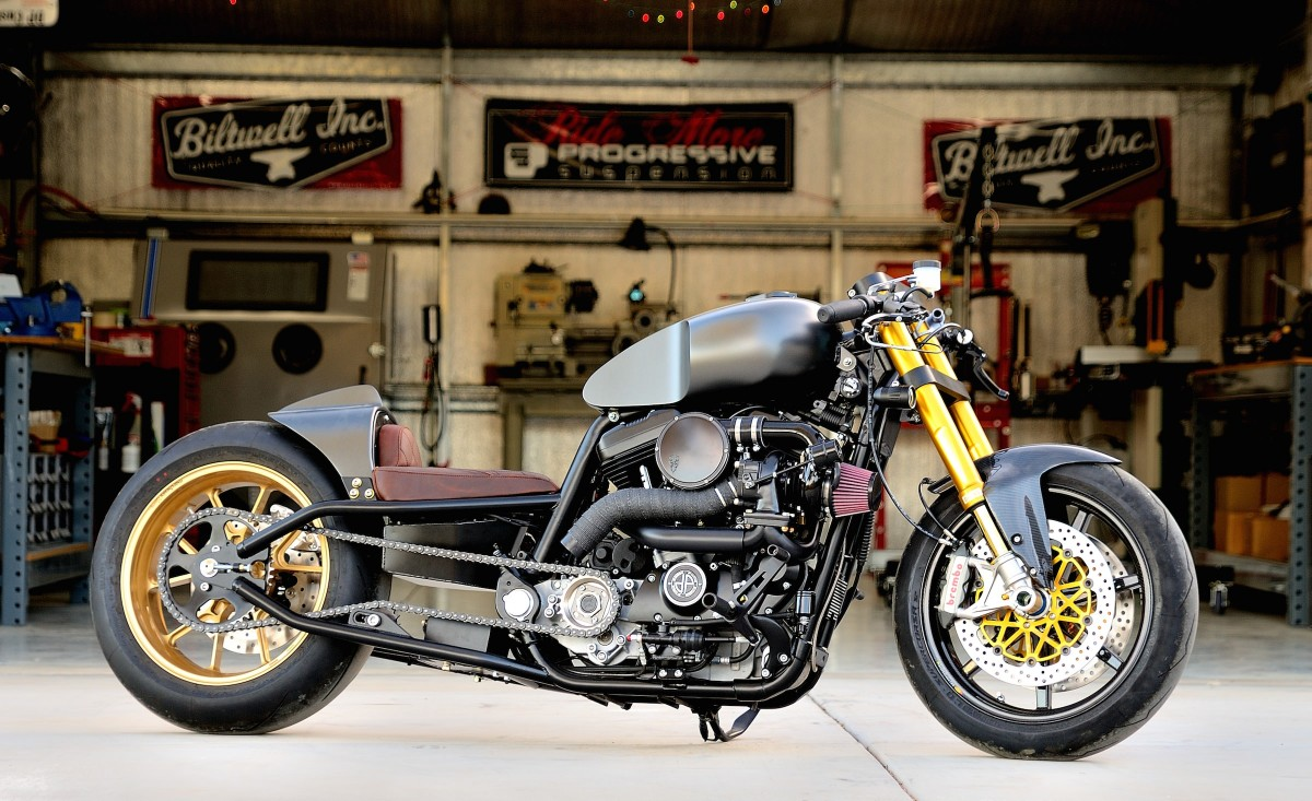 Turbo Sportster by DP Customs