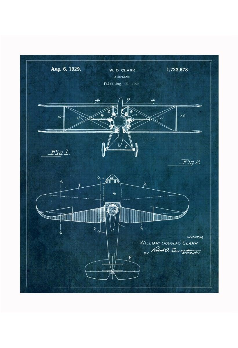 Vintage Patent Application Posters